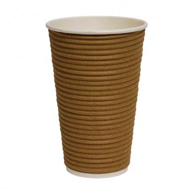 brown wrap twist cup large 16oz
