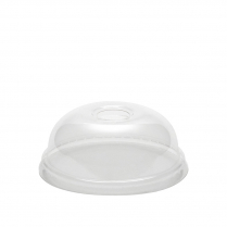 8-10oz Clarity Clear Takeaway Cup Lid Dome