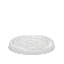 8-10oz Clarity Clear Takeaway Cup Lid Flat