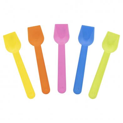 multi-colour gelato spoons