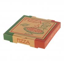 10in Pizza Box Brown Originale