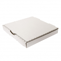 """11"""" Takeaway Pizza Box White"""