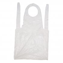 Disposable Plastic Apron White