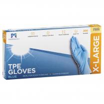 Extra Large TPE Powder Free Glove Blue