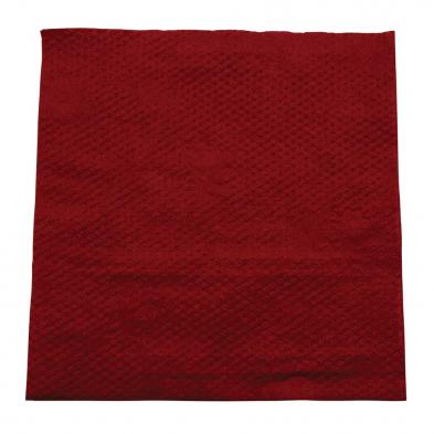 burgundy napkin 1ply lunch
