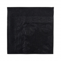 2ply Lunch Paper Napkin Black
