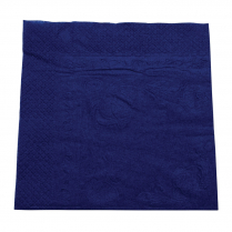 2ply Lunch Paper Napkin Dark Blue