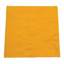 2ply Lunch Paper Napkin Yellow