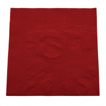 2ply Lunch Paper Napkin Red