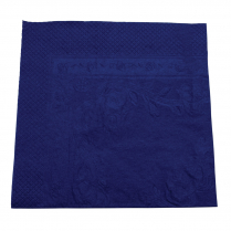 2ply Dinner Paper Napkin Dark Blue