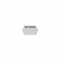 18x11mm Label Non-Tamper Evident 'BEST BEFORE' Freezer Grade
