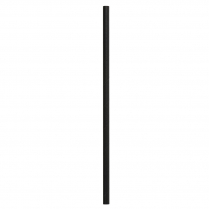 Regular Paper Straw Black