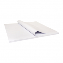 80x80cm Cafe Paper Table Top Cover White