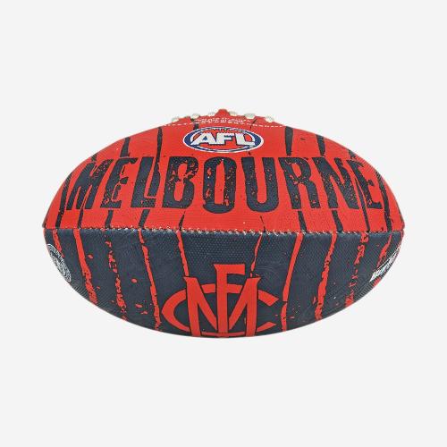 MELBOURNE DEMONS AFL STINGER FOOTBALL SIZE 2
