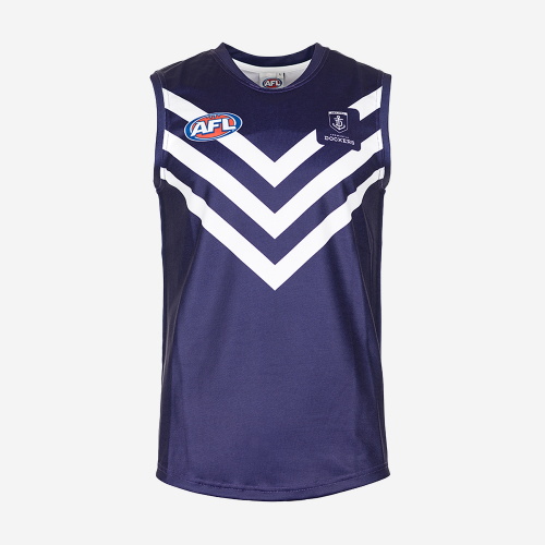 FREMANTLE DOCKERS AFL REPLICA YOUTH GUERNSEY