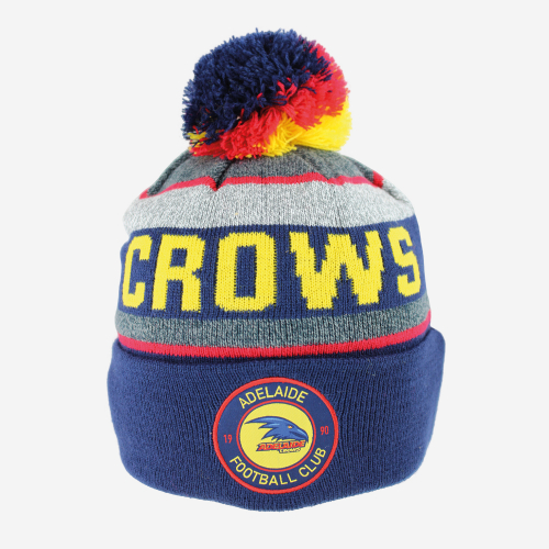ADELAIDE CROWS AFL TUNDRA BEANIE