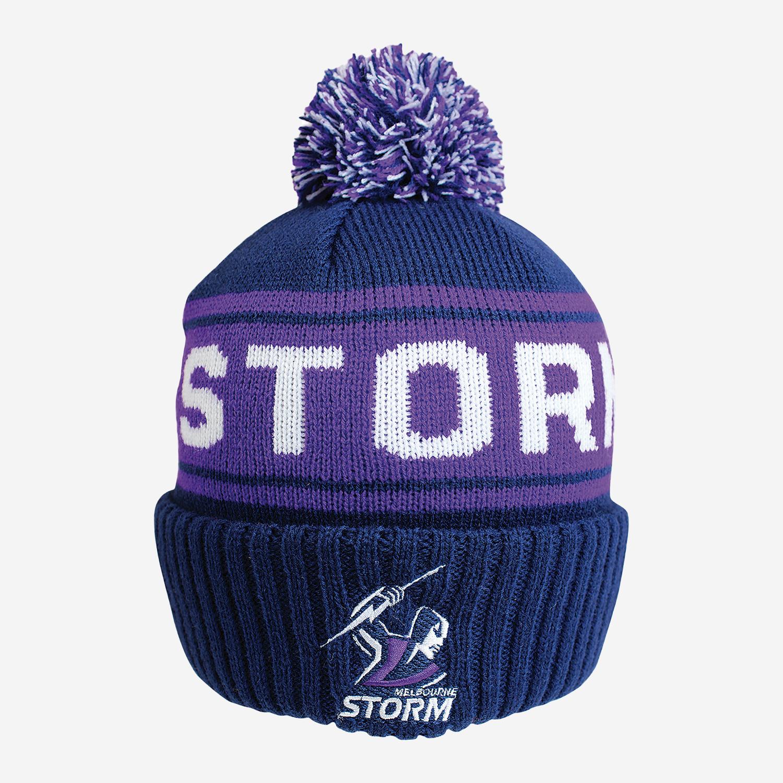 Storm NRL Striker Beanie