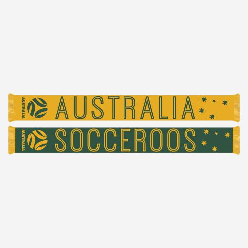Socceroos Inline Jacquard Scarf