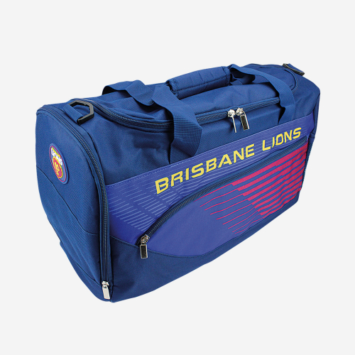 BRISBANE LIONS AFL BOLT SPORTS BAG