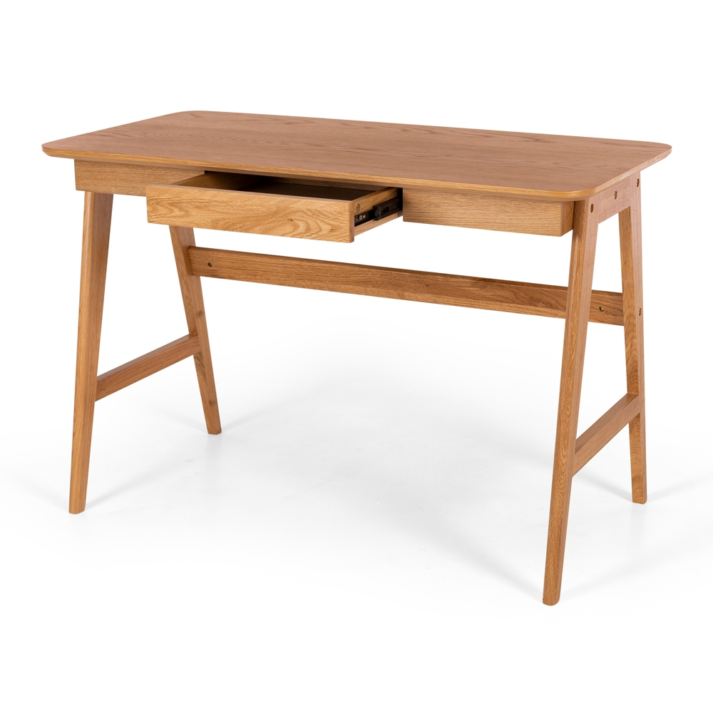 Radius Desk Oak