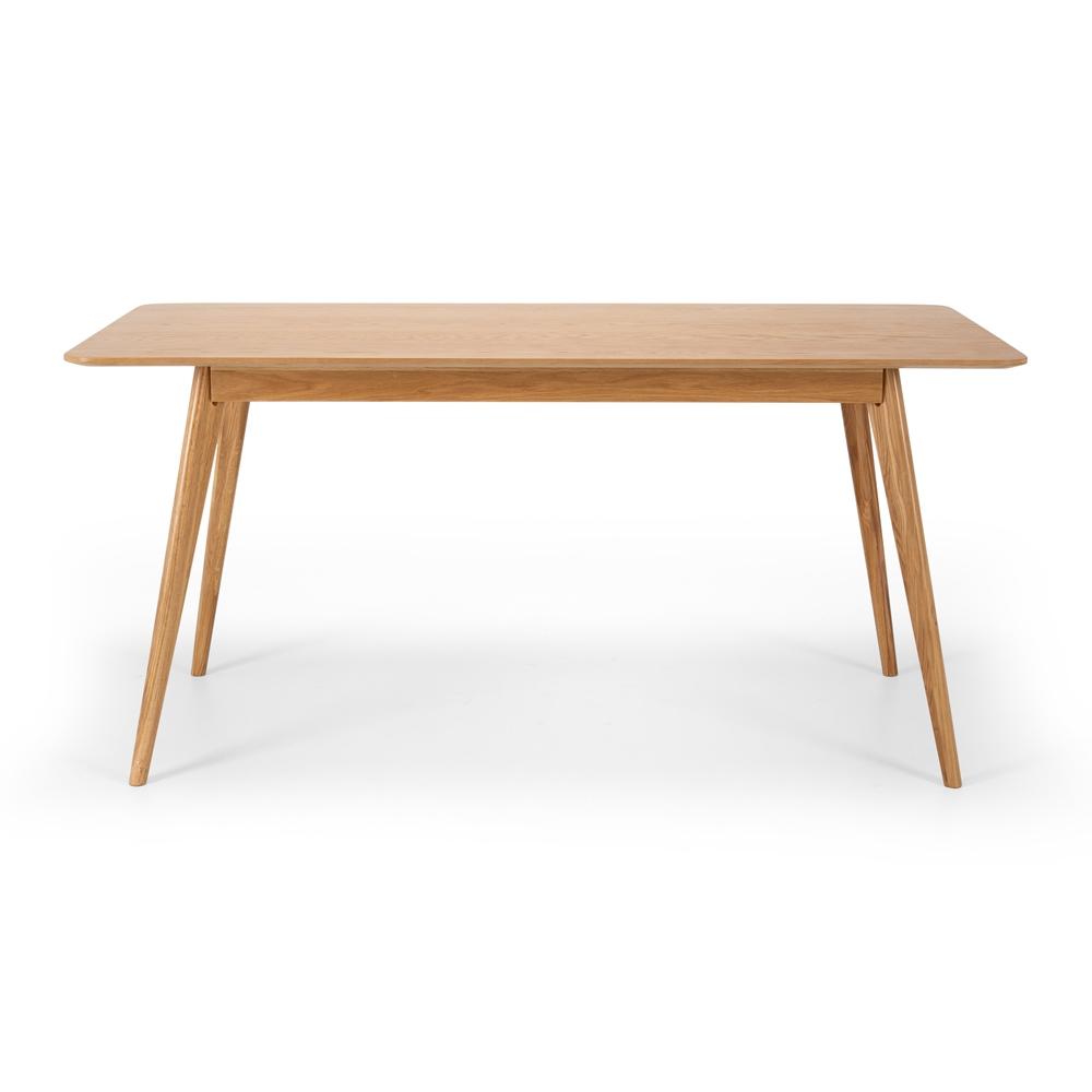 Radius Dining Table 160x80 (Oak Top)