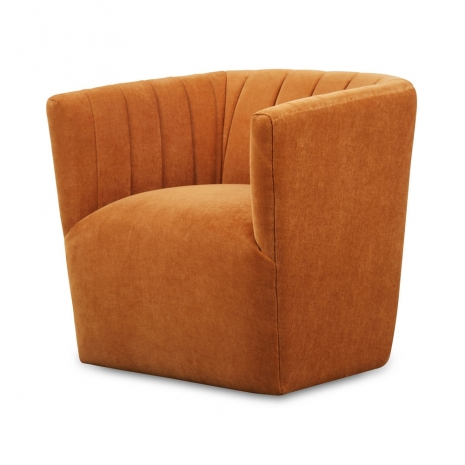 Swivel Chair in Ginger