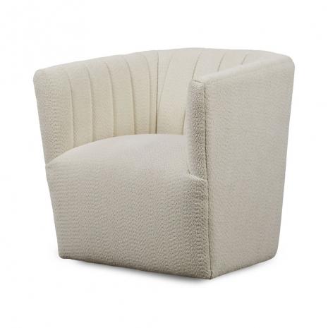 Swivel Chair in Milk