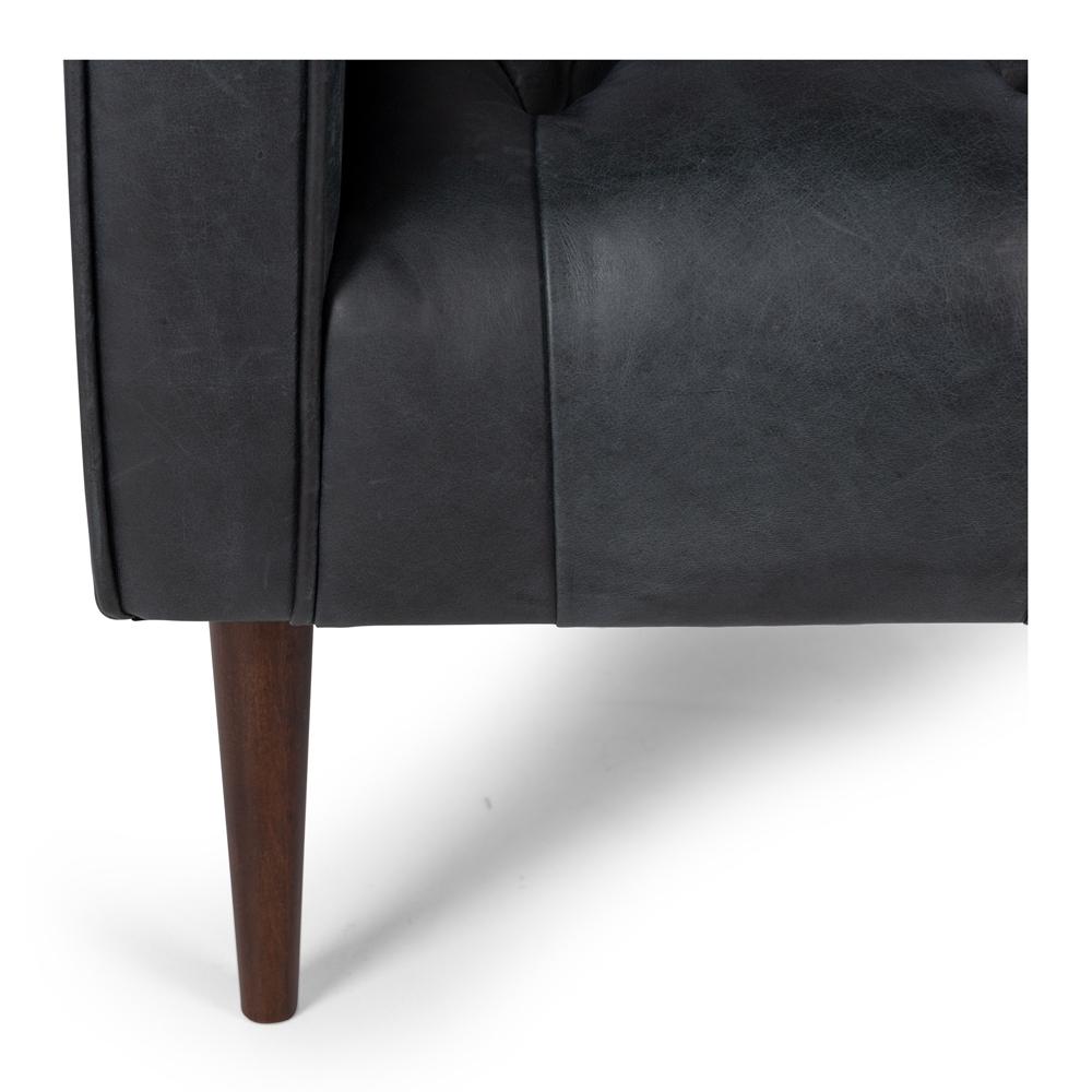 Winston Armchair in Charme Black