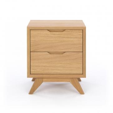 furniture by design milano 2 drawer bedside 1