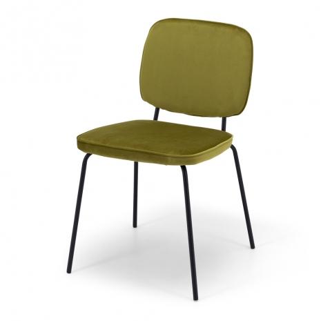 Clyde Dining Chair Meadow Velvet