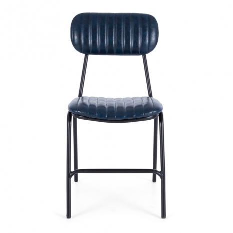 Datsun Chair Vintage Blue PU