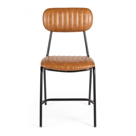 Datsun Chair Vintage Tan PU