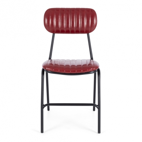 Datsun Chair Vintage Red PU