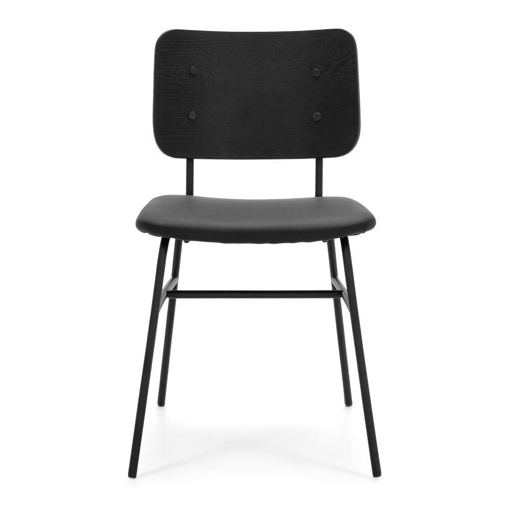 Lukas Chair Black Panel