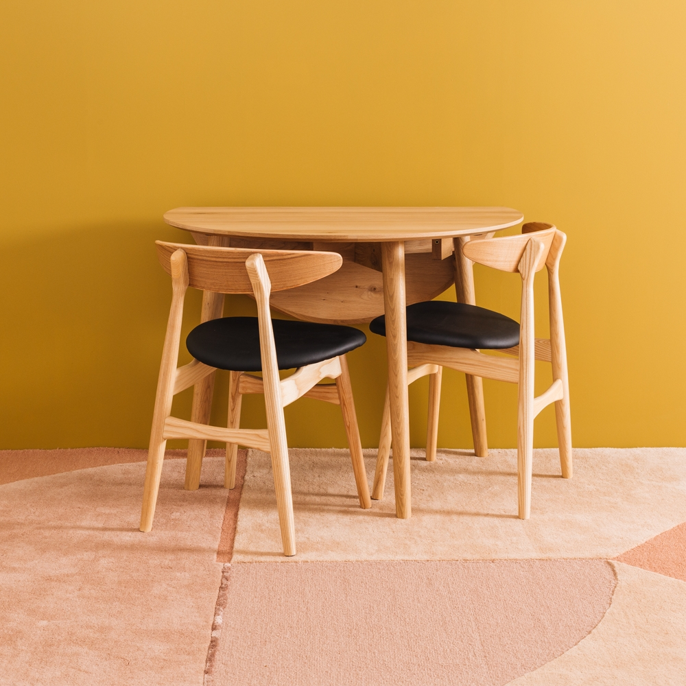 Nordik Dropleaf Table 100rd