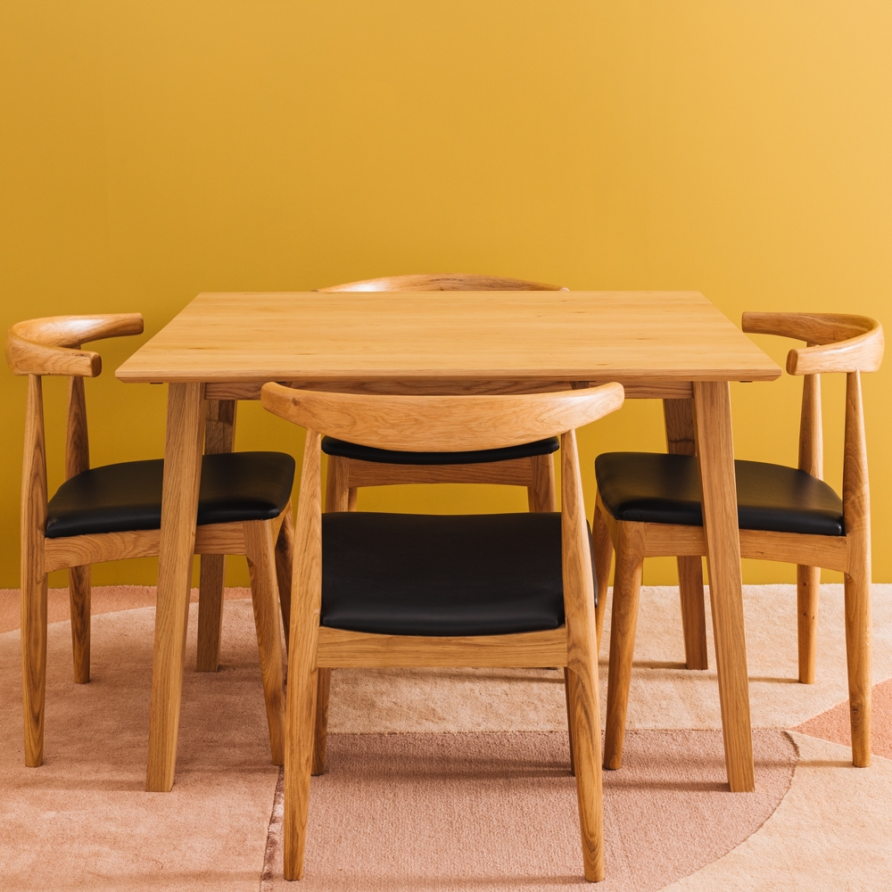 Nordik Dropleaf Table 102sq