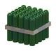 6.5x38 WALL PLUG GREEN (10-12G SCREW)