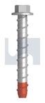 M6x50 XBOLT - HEX FLANGE HEAD Z/Y
