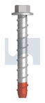 M8x50 XBOLT - HEX FLANGE HEAD Z/Y