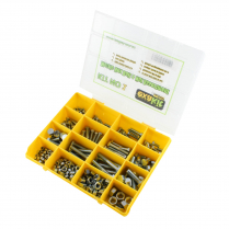Metric Hex Bolt & Nut Assortment Cl8.8 Zinc