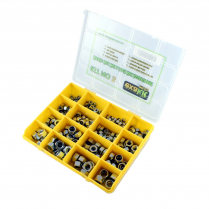 Metric Hex Nut Assortment Cl8 Zinc