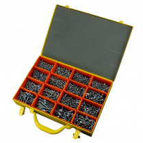 Self TappingScrew - PanPhillips - Black Zinc Kit - 1860 Pce*