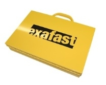 Exafast Assortment Steel Case - Empty - No Tote Boxes
